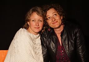 Nathalie Grave et Claire Terrier